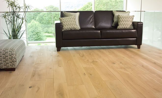 Lacquered French Oak